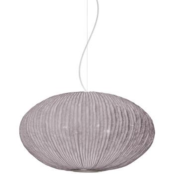 Arturo Alvarez Coral Seaurchin COAU04 70 Pendelleuchte, taupe, mit transparentem Kabel
