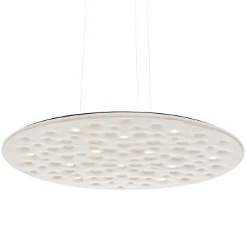Artemide Silent Field 2.0 Sospensione LED, direktes und indirektes Licht, weiß, kompatibel mit Artemide App