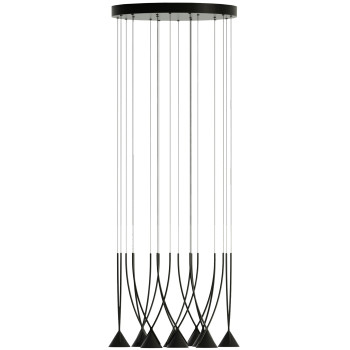 Axo Light Jewel SP10, schwarz / schwarz, dimmbar (inkl. Driver)