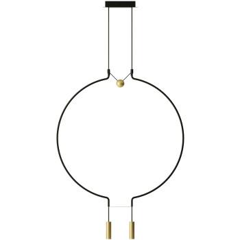 Axo Light Liaison M2, Bogen schwarz / Details gold matt