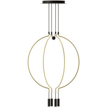 Axo Light Liaison M4, Bogen mattgold / Details schwarz