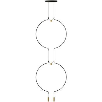 Axo Light Liaison M2 Duo, Bogen schwarz / Details gold matt