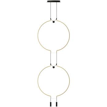 Axo Light Liaison M2 Duo, Bogen mattgold / Details schwarz
