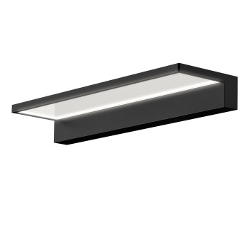 Serien Lighting Crib Wall, schwarz