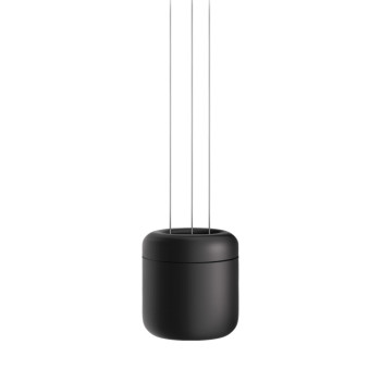 Serien Lighting Cavity Suspension S, schwarz, 3000K