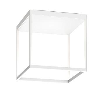 Serien Lighting Reflex² Ceiling M 300, Gehäuse weiß, Glas strukturiert weiß