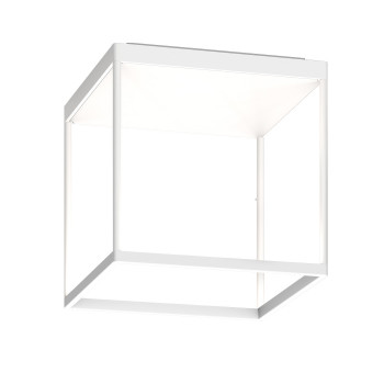 Serien Lighting Reflex² Ceiling M 300, Gehäuse weiß, Glas weiß matt