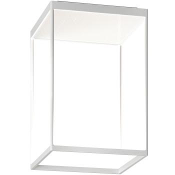 Serien Lighting Reflex² Ceiling M 450, Gehäuse weiß, Glas strukturiert weiß