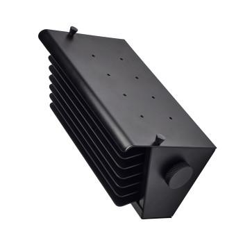 DCW Biny Box 1, Korpus schwarz / Lamellen schwarz