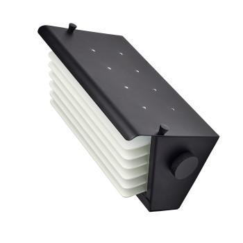 DCW Biny Box 1, Korpus schwarz / Lamellen weiß