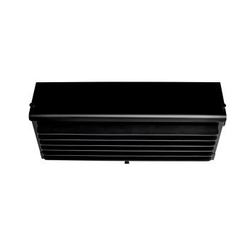 DCW Biny Box 3, Korpus schwarz / Lamellen schwarz
