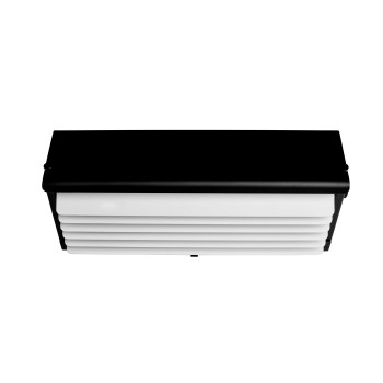 DCW Biny Box 3, Korpus schwarz / Lamellen weiß