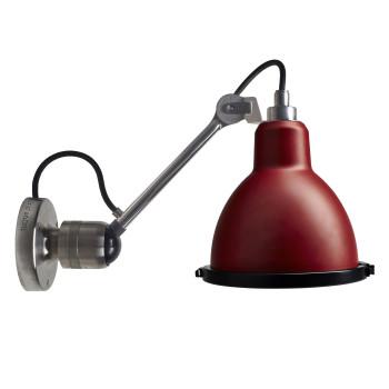 DCW Lampe Gras No 304 XL Seaside, Metall, Schirm rot