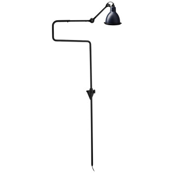DCW Lampe Gras No 217 XL Seaside, Schirm blau