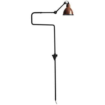 DCW Lampe Gras No 217 XL Seaside, Schirm Kupfer roh