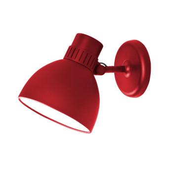 B.Lux System W, rot / innen weiß satiniert