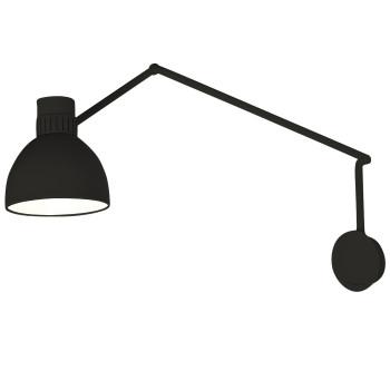 B.Lux System W20, schwarz / innen weiß satiniert