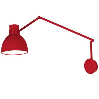 B.Lux System W20, rot / innen weiß satiniert