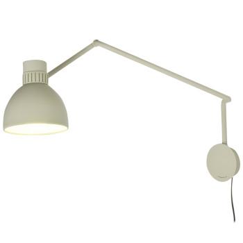 B.Lux System W20, beige / innen weiß satiniert, mit Stecker