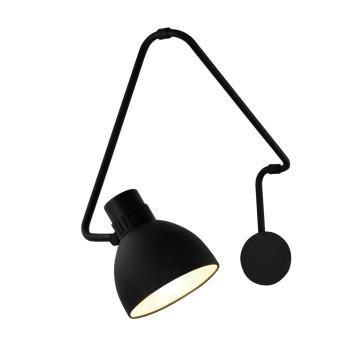 B.Lux System W40, schwarz / innen weiß satiniert