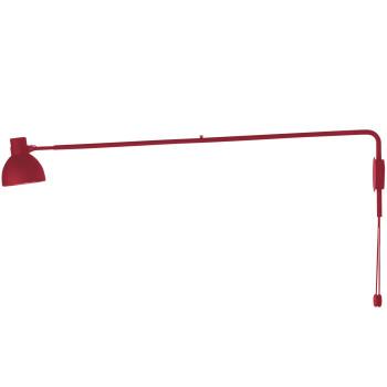 B.Lux System W125, rot / innen weiß satiniert, mit Stecker