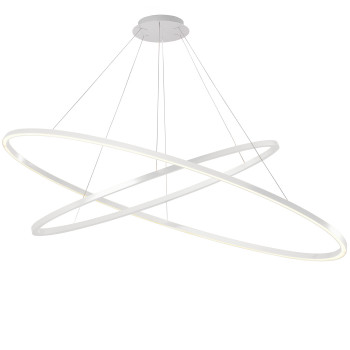 Nemo Ellisse Double Mega Pendant Light, white