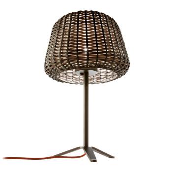 Panzeri Ralph Lampe de table, marron