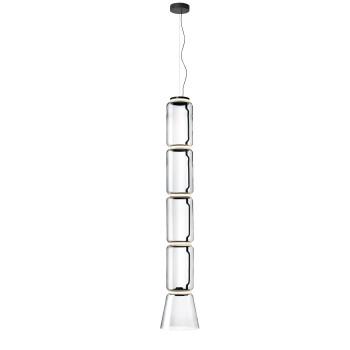 Flos Noctambule Low Cylinders & Cone LED, 4 Zylinder (Noctambule S4)