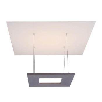 Escale Zen Deckenleuchte, Aluminium / Glas weiß