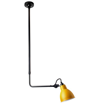 DCW Lampe Gras No 313, Schirm gelb