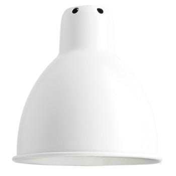 DCW Lampe Gras Ersatzschirm, rund (14 cm x 14 cm), weiß