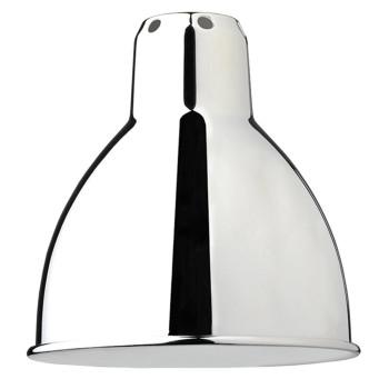 DCW Lampe Gras Ersatzschirm, rund (14 cm x 14 cm), Chrom