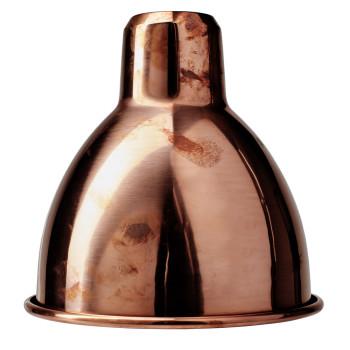 DCW Lampe Gras Medium Ersatzschirm, rund (15,3 cm x 15,2 cm), Kupfer roh