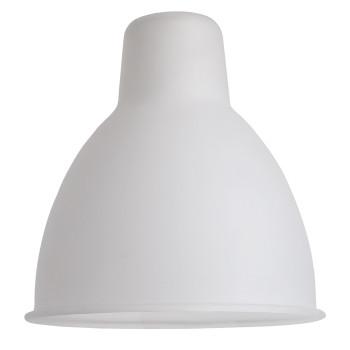 DCW Lampe Gras Medium Ersatzschirm, rund (15,3 cm x 15,2 cm), Polycarbonat
