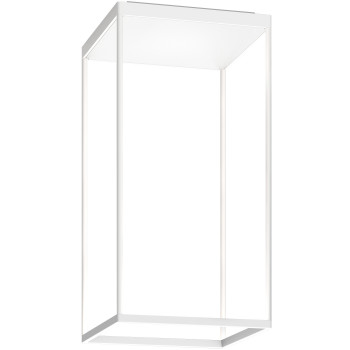 Serien Lighting Reflex² Ceiling M 600, Gehäuse weiß, Glas strukturiert weiß