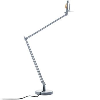 Luceplan Berenice Tavolo Grande, Struktur Alu, Metallreflektor Messing