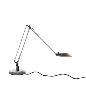 Luceplan Berenice Tavolo Piccola, Struktur Alu, Metallreflektor Messing