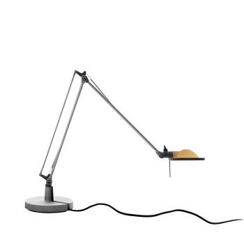 Luceplan Berenice Tavolo Piccola, Struktur Alu, Glasreflektor gelb