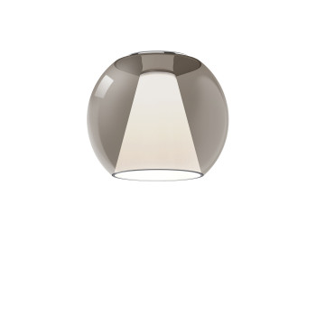 Serien Lighting Draft Ceiling S, Glas braun, 3000K
