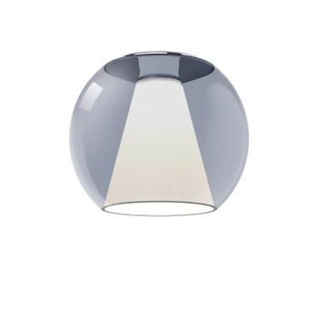 Serien Lighting Draft Ceiling M, Glas blau, 2700K
