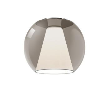 Serien Lighting Draft Ceiling M, Glas braun, 2700K