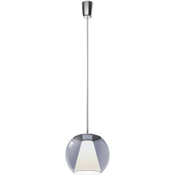 Serien Lighting Draft Suspension Tube S, Glas blau, 2700K
