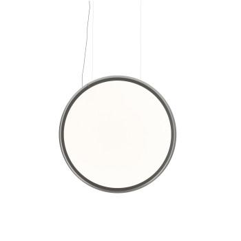 Artemide Discovery Vertical 100 Sospensione LED, Aluminium satiniert, App-kompatibel
