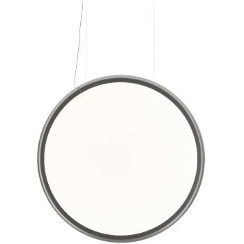 Artemide Discovery Vertical 140 Sospensione LED, Aluminium satiniert, App-kompatibel