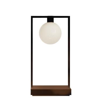Artemide Curiosity 36 LED, braun / schwarz, mit Glasdiffusor