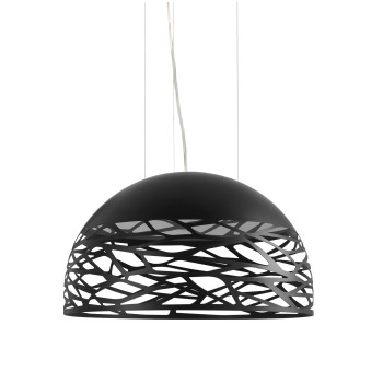 Studio Italia Design Kelly Medium Dome 60, schwarz matt