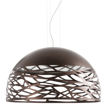 Studio Italia Design Kelly Dome 80 Pendelleuchte, bronze