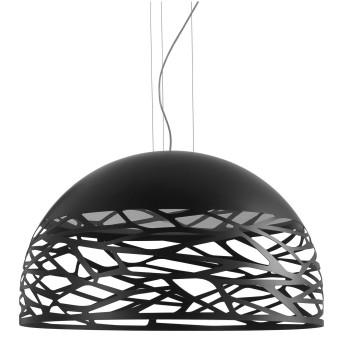 Studio Italia Design Kelly Large Dome 80, schwarz matt