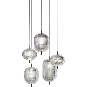 Lodes Jefferson Cluster 5, Glas transparent