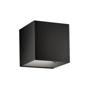 Studio Italia Design Laser 10x10 LED, schwarz matt, 2700K